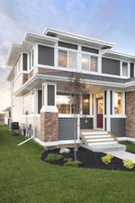 Main Photo: 703 CHARLESWORTH Way in Edmonton: Zone 53 House Half Duplex for sale : MLS®# E4152381