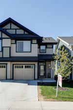 Main Photo: 2424 CASSIDY Way in Edmonton: Zone 55 House Half Duplex for sale : MLS®# E4158053