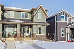 Main Photo: 134 Fireside Cove: Cochrane Semi Detached for sale : MLS®# A1058817