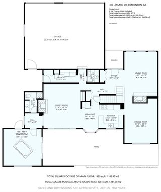 Photo 48: 400 LESSARD Drive in Edmonton: Zone 20 House for sale : MLS®# E4213968
