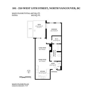 """Photo 19: 101 210 W 13TH Street in North Vancouver: Central Lonsdale Condo for sale in """"THE KIMPTON"""" : MLS®# R2517290"""