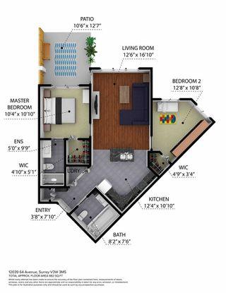 "Photo 29: 210 12039 64 Avenue in Surrey: West Newton Condo for sale in ""LUXOR"" : MLS®# R2497151"