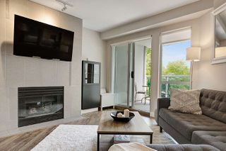 """Photo 3: 309 8460 JELLICOE Street in Vancouver: South Marine Condo for sale in """"Boardwalk"""" (Vancouver East)  : MLS®# R2468669"""