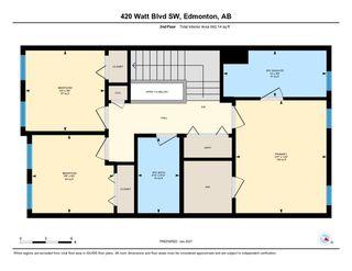 Photo 47: 420 Watt Boulevard in Edmonton: Zone 53 House Half Duplex for sale : MLS®# E4224836