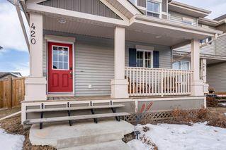 Photo 3: 420 Watt Boulevard in Edmonton: Zone 53 House Half Duplex for sale : MLS®# E4224836
