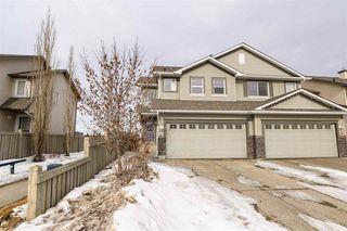 Photo 1: 1654 MELROSE Place in Edmonton: Zone 55 House Half Duplex for sale : MLS®# E4191035