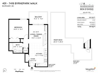 """Photo 28: 401 7418 BYRNEPARK Walk in Burnaby: South Slope Condo for sale in """"GREEN"""" (Burnaby South)  : MLS®# R2519549"""