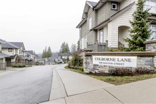 """Photo 1: 81 1430 DAYTON Street in Coquitlam: Burke Mountain Townhouse for sale in """"COLBORNE LANE"""" : MLS®# R2445666"""