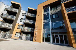 Photo 1: 217 503 ALBANY Way in Edmonton: Zone 27 Condo for sale : MLS®# E4218178