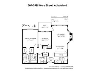 Photo 20: 307 2585 WARE Street in Abbotsford: Central Abbotsford Condo for sale : MLS®# R2414865