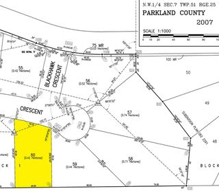 Photo 5: 60 25527 TWP RD 511 A: Rural Parkland County Rural Land/Vacant Lot for sale : MLS®# E4191647