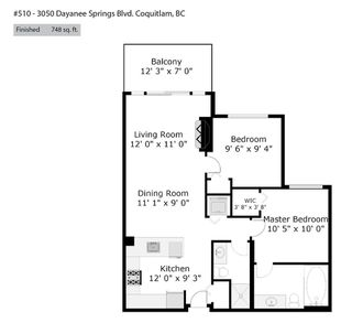Photo 19: 510 3050 DAYANEE SPRINGS Boulevard in Coquitlam: Westwood Plateau Condo for sale : MLS®# R2448249