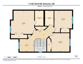 Photo 25: 7 1128 156 Street in Edmonton: Zone 14 House Half Duplex for sale : MLS®# E4177540