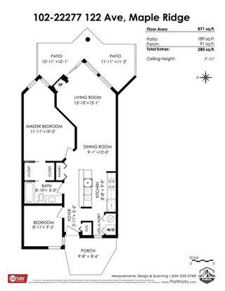"Photo 27: 102 22277 122 Avenue in Maple Ridge: West Central Condo for sale in ""THE GARDENS"" : MLS®# R2498327"