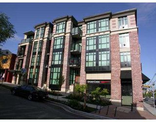 Main Photo: 307 2515 ONTARIO ST in Vancouver: Mount Pleasant VW Condo for sale (Vancouver West)  : MLS®# V545294