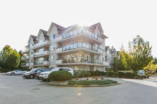 "Photo 1: 308 33718 KING Road in Abbotsford: Poplar Condo for sale in ""COLLEGE PARK"" : MLS®# R2427978"