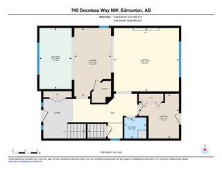 Photo 31: 745 DECOTEAU Way in Edmonton: Zone 27 House for sale : MLS®# E4187336