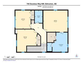 Photo 32: 745 DECOTEAU Way in Edmonton: Zone 27 House for sale : MLS®# E4187336