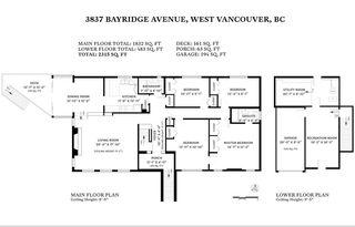 Photo 20: 3837 BAYRIDGE Avenue in West Vancouver: Bayridge House for sale : MLS®# R2450379