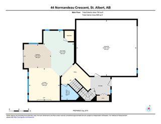 Photo 28: 44 Normandeau Crescent: St. Albert House for sale : MLS®# E4169460