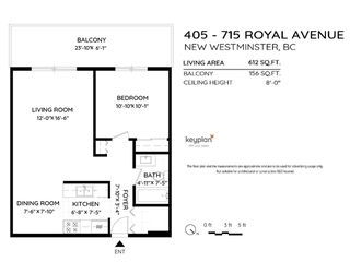 "Photo 12: 405 715 ROYAL Avenue in New Westminster: Uptown NW Condo for sale in ""Vista Royale"" : MLS®# R2511816"