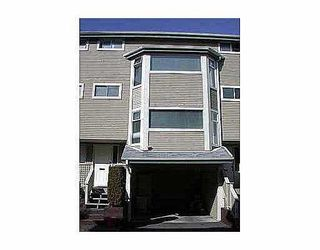"""Photo 1: 8 1195 FALCON DR in Coquitlam: Eagle Ridge CQ Townhouse for sale in """"THE COURTYARDS"""" : MLS®# V563650"""