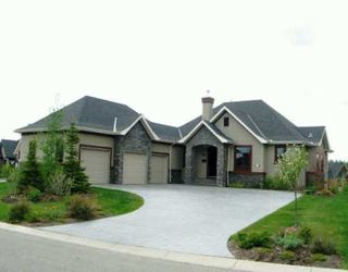Photo 1:  in CALGARY: Rural Rocky View MD Residential Detached Single Family for sale : MLS®# C3213364