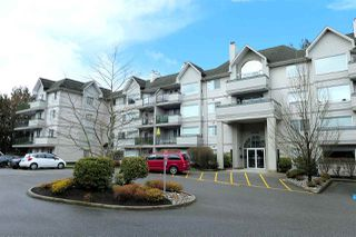 "Photo 1: 409 33708 KING Road in Abbotsford: Poplar Condo for sale in ""College Park Place"" : MLS®# R2448232"