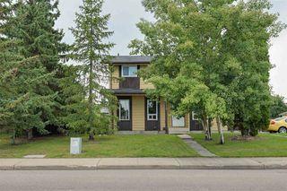 Photo 1: 14518 23 Street in Edmonton: Zone 35 House Half Duplex for sale : MLS®# E4172679