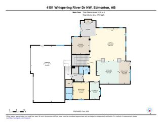 Photo 39: 4151 WHISPERING RIVER Drive in Edmonton: Zone 56 House for sale : MLS®# E4200148