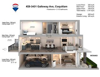 "Photo 2: 29 3431 GALLOWAY Avenue in Coquitlam: Burke Mountain Townhouse for sale in ""Northbrook"" : MLS®# R2484831"