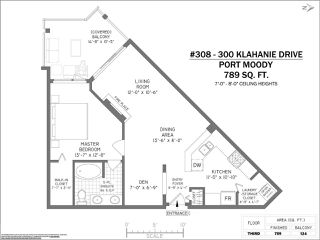 "Photo 17: 308 300 KLAHANIE Drive in Port Moody: Port Moody Centre Condo for sale in ""KLAHANIE - TIDES BLDG."" : MLS®# R2480822"