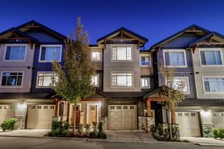 Photo 1: 25 11305 240 Street in Maple Ridge: Cottonwood MR Townhouse for sale : MLS®# R2410390
