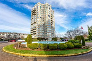 """Photo 1: 101 3190 GLADWIN Road in Abbotsford: Central Abbotsford Condo for sale in """"Regency Park Towers"""" : MLS®# R2442137"""