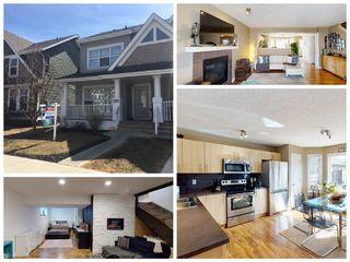Photo 1: 7303 22 Avenue in Edmonton: Zone 53 House Half Duplex for sale : MLS®# E4193886