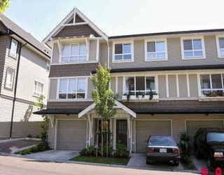 "Photo 1: 8 6747 203RD ST in Langley: Willoughby Heights Townhouse for sale in ""SAGEBROOK"" : MLS®# F2614776"