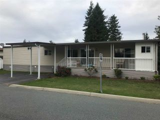 "Photo 1: 226 3665 244 Street in Langley: Otter District Manufactured Home for sale in ""Langley Grove Estates"" : MLS®# R2410588"