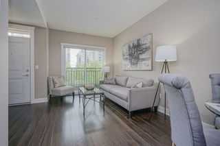 "Photo 2: 203 828 ROYAL Avenue in New Westminster: Downtown NW Townhouse for sale in ""Brickstone Walk"" : MLS®# R2388112"