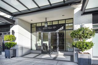 "Photo 1: 408 4355 W 10TH Avenue in Vancouver: Point Grey Condo for sale in ""Iron & Whyte"" (Vancouver West)  : MLS®# R2462324"
