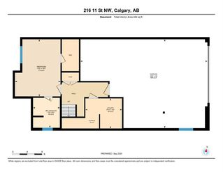 Photo 39: 216 11 Street NW in Calgary: Hillhurst Semi Detached for sale : MLS®# A1033762