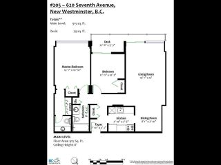 """Photo 19: 205 620 SEVENTH Avenue in New Westminster: Uptown NW Condo for sale in """"Charter House"""" : MLS®# R2498799"""