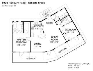 Photo 20: 1920 HANBURY Road: Roberts Creek House for sale (Sunshine Coast)  : MLS®# R2517180