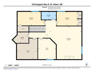 Photo 31: 154 EASTGATE Way: St. Albert House for sale : MLS®# E4212117