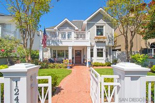 Main Photo: CORONADO VILLAGE House for sale : 5 bedrooms : 124 F Avenue in Coronado