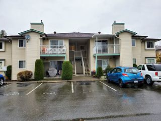 "Photo 1: 16 45640 STOREY Avenue in Sardis: Sardis West Vedder Rd Townhouse for sale in ""Whispering Pines"" : MLS®# R2518269"