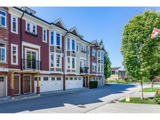 "Photo 1: 4 20738 84 Avenue in Langley: Willoughby Heights Townhouse for sale in ""Yorkson Creek"" : MLS®# R2395549"