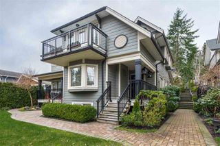 "Photo 1: 3117 SUNNYHURST Road in North Vancouver: Lynn Valley Townhouse for sale in ""Eagle Lynn"" : MLS®# R2441350"