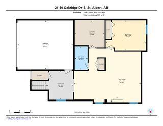 Photo 42: 21 50 OAKRIDGE Drive: St. Albert House Half Duplex for sale : MLS®# E4204285