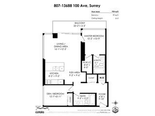 "Photo 24: 807 13688 100 Avenue in Surrey: Whalley Condo for sale in ""Park Place 1"" (North Surrey)  : MLS®# R2523813"