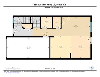 Photo 22: #158 101 DEER VALLEY Drive: Leduc Townhouse for sale : MLS®# E4178331